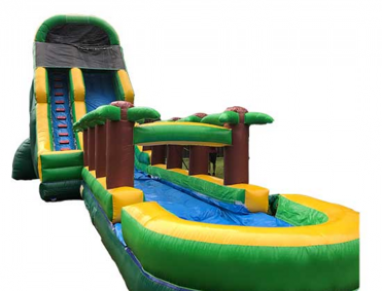 PalmTree 22FT slide + Slip n Slide connection